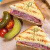 Фото к позиции меню Сэндвич с брискетом