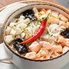 Фото к позиции меню Суп с морепродуктами