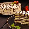 Фото к позиции меню Блиный торт