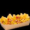 Фото к позиции меню Фри с колбасками