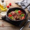 Фото к позиции меню Фланк стейк с овощами