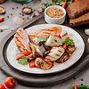 Фото к позиции меню Куриная грудка гриль с овощами гриль