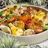 Фото к позиции меню Салат с уткой и мандаринами