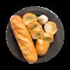Фото к позиции меню Багет чесночный Ав Пекарня