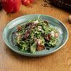 Фото к позиции меню Микс-салат с хрустящими баклажанами