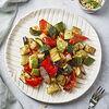 Фото к позиции меню Печеные овощи с итальянскими травами