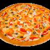 Фото к позиции меню Вегетарианская пицца