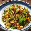 Фото к позиции меню Салат с тофу и печёными овощами