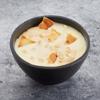 Фото к позиции меню Десерт гурьевский со сгущённым молоком и орешками