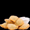 Фото к позиции меню Вареники с картофелем и грибами