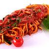Фото к позиции меню Спагетти с помидорами