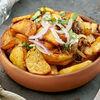 Фото к позиции меню Картошка с грибами по-домашнему
