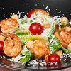 Фото к позиции меню Классический салат Цезарь с креветками