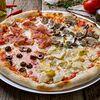 Фото к позиции меню Пицца Четыре сезона
