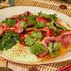 Фото к позиции меню Острый салат с говядиной
