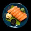 Фото к позиции меню Суси с лососем
