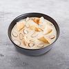 Фото к позиции меню Десерт гурьевский с чипами и орешками