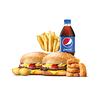 Фото к позиции меню Большое комбо с Чизбургером