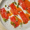 Фото к позиции меню Сашими из тунца в азиатском стиле