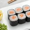 Фото к позиции меню Мини-ролл с лососем