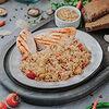 Фото к позиции меню Куриная грудка гриль с рисом тяхан