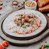 Фото к позиции меню Соте из индейки с рисом и овощами