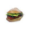 Фото к позиции меню Римская булочка с овощами и соусом песто