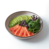 Фото к позиции меню Татаки из лосося и авокадо