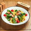 Фото к позиции меню Салат со шпинатом и манго