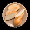 Фото к позиции меню Багет мини пшеничный от шеф-пекаря Ав