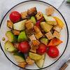 Фото к позиции меню Салат Рататуй с тофу-гриль