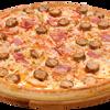 Фото к позиции меню Пицца Карбонара с колбасками