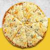 Фото к позиции меню Четыре Сыра De luxe Пицца 30 см на ПАН тесте