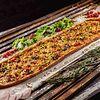 Фото к позиции меню Пицца Мясной барон Метровая