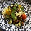 Фото к позиции меню Теплый салат с осьминогом
