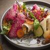 Фото к позиции меню Салат с грушей и арбузной редькой