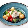 Фото к позиции меню Греческий салат с тофу