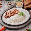 Фото к позиции меню Гуляш из говядины с картофельным пюре
