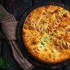 Фото к позиции меню Пирог со шпинатом и сыром стандаргтный