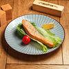Фото к позиции меню Стейк семги и картофельное пюре