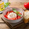 Фото к позиции меню Буррата с розовыми томатами