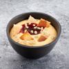 Фото к позиции меню Десерт гурьевский с клубничным вареньем и орешками