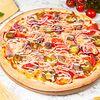 Фото к позиции меню Пицца с мраморной говядиной острая