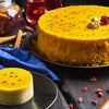 Фото к позиции меню Мусс манго-маракуя пирожное