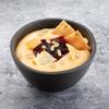 Фото к позиции меню Десерт гурьевский с вишневым вареньем и орешками