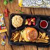 Фото к позиции меню Детский обед с чизбургером