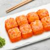 Фото к позиции меню Запеченный сырный с лососем
