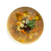 Фото к позиции меню Суп картофельный с фасолью