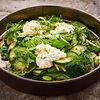 Фото к позиции меню Большой зеленый салат и страчателла
