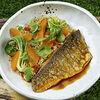 Фото к позиции меню Белая рыба и кус кус
